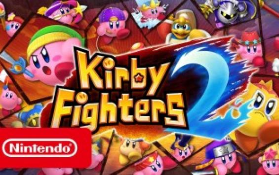 Kirby Fighters 2 вышла на Nintendo Switch